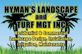 Hyman's Landscaping and Turf Management of Morehead City Eastern North Carolina Residential and Commercial Landscape Design Installation and Maintenance
